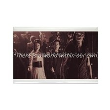 Shadowhunter Rectangle Magnet