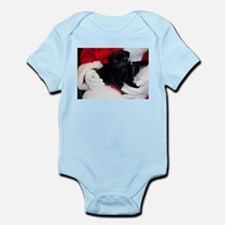 Pug Puppy Christmas Infant Bodysuit