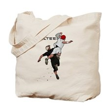 Bid over shoulder Tote Bag
