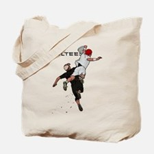 Bid over shoulder Tote Bag