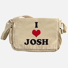 I Love Josh Messenger Bag