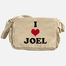 I Love Joel Messenger Bag
