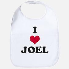 I Love Joel Bib