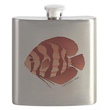 Discusfish (Discus) fish Flask