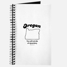 OREGON: You will not die of dysentery Journal