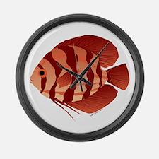 Discusfish (Discus) fish Large Wall Clock