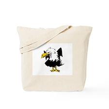 The Angry Eagle Tote Bag