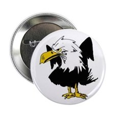 "The Angry Eagle 2.25"" Button"