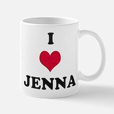 I Love Jenna Mug