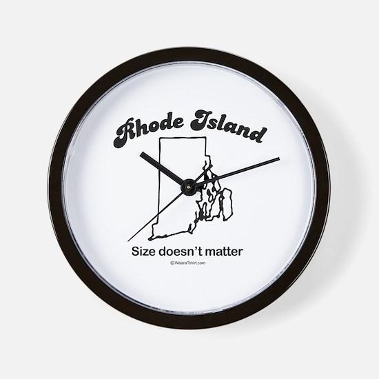 RHODE ISLAND: Size doesn't matter Wall Clock