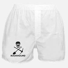 Rockhound Skull Cross Pick Shovel Boxer Shorts