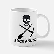 Rockhound Skull Cross Pick Shovel Mug