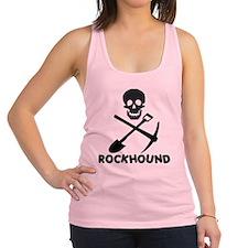 Rockhound Skull Cross Pick Shovel Racerback Tank T
