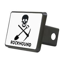 Rockhound Skull Cross Pick Shovel Hitch Cover