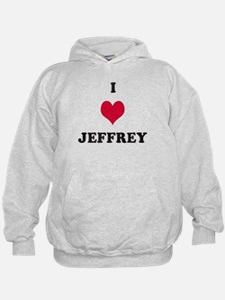 I Love Jeffrey Hoodie