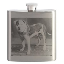 Websters Joker, a famous Colby bred dog Flask