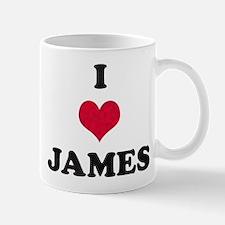 I Love James Mug