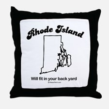 RHODE ISLAND: We'll fit in your back yard Throw Pi