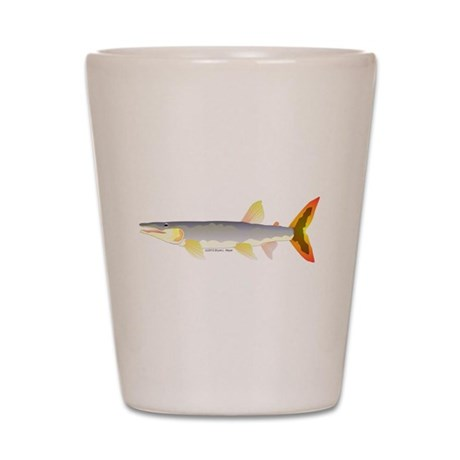 Bicuda (from Audreys Amazon River) Shot Glass