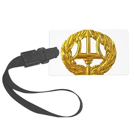 Command Ashore badge Large Luggage Tag