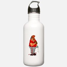 Sleeping Ball Player Water Bottle