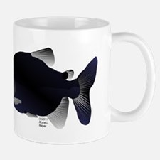 Black Pacu fish tropical Amazon Mug