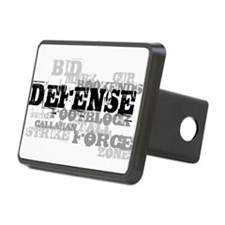 Defense (lettering) Hitch Cover