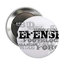 "Defense (lettering) 2.25"" Button"