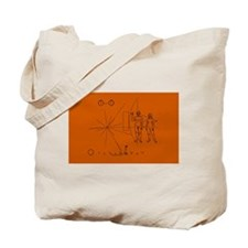 Hookem Pioneer plaque Tote Bag