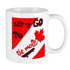 Let's go to the mall Mug