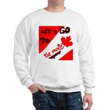 Let's go to the mall Sweatshirt