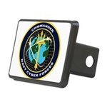 CYBERFOR emblem Rectangular Hitch Cover