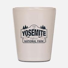 Yosemite Slate Blue Shot Glass