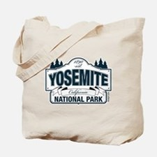Yosemite Slate Blue Tote Bag