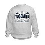 Yosemite Slate Blue Kids Sweatshirt