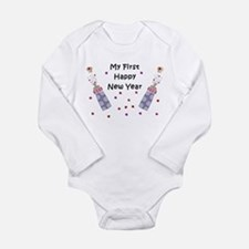 Baby's First New Year Long Sleeve Infant Bodysuit