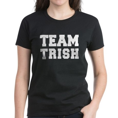 TEAM TRISH Women's Dark T-Shirt