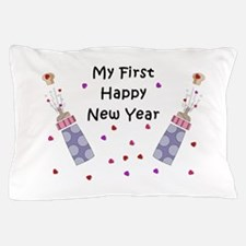 Baby's First New Year Pillow Case