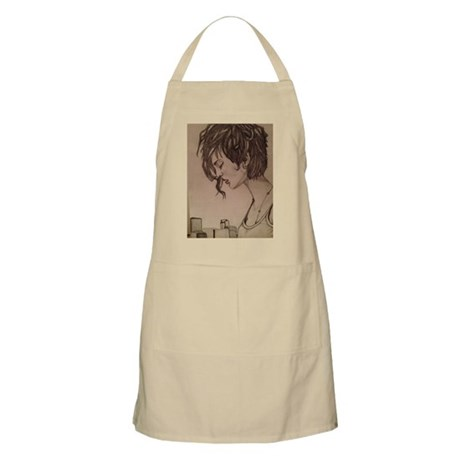 lonely girl Apron