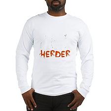 Cat herder (for dark backgrounds) Long Sleeve T-Sh