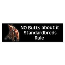 Standardbreds Rule Bumper Stickers