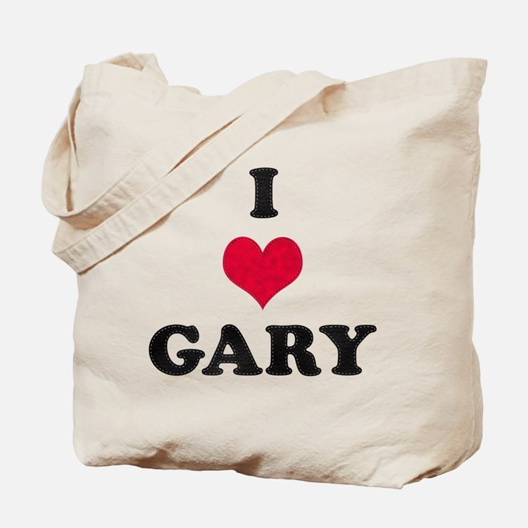 I Love Gary Tote Bag