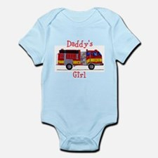 Daddy's Girl Fireman Infant Bodysuit