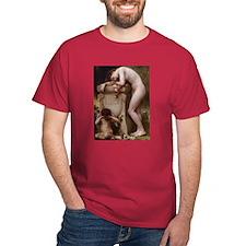 """Elegy"" T-Shirt in Cardinal Red"