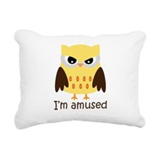 Im-amused.jpg Rectangular Canvas Pillow