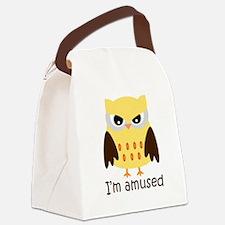 Im-amused.jpg Canvas Lunch Bag