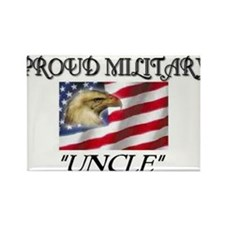 Proud Military Uncle... Rectangle Magnet