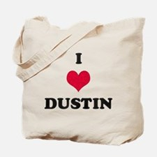 I Love Dustin Tote Bag