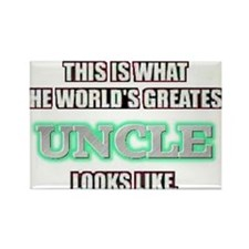World's Greatest Uncle... Rectangle Magnet