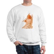 Victorian Christmas Angel Sweatshirt